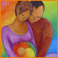 Futuri genitori insieme